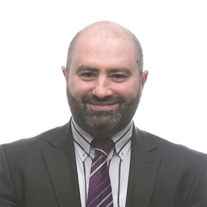 De nieuwe fractieleider van de PvdA in Helmond: Duran Kurumli.