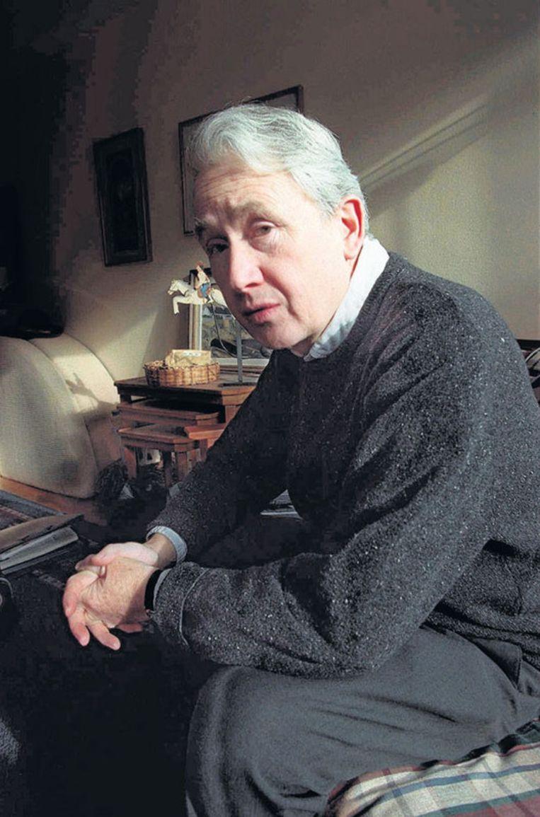 Frank McCourt in 1997. Hij won als 66-jarige debutant de Pulitzerprijs met het autobiografische Angela's ashes. Foto AP Beeld
