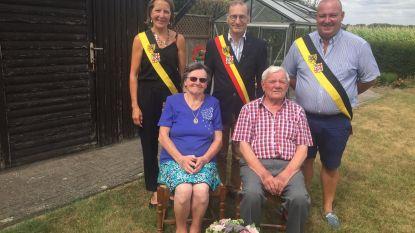 Briljanten huwelijksverjaardag in Sasdijkstraat