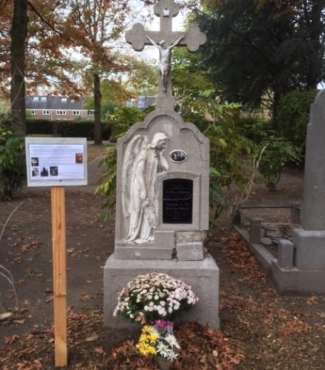 Spaanse Griep velde jong echtpaar in twee dagen tijd, hun graf in Tilburg is nu gered