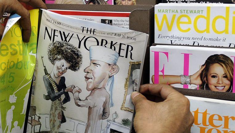 Lehrer schreef hele alinea's van zijn eigen oude artikelen over in tijdschrift The New Yorker. Beeld AFP