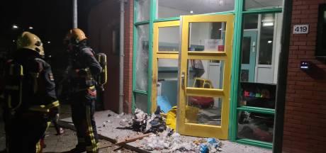 Ravage door vuurwerkbom bij kinderdagverblijf: 'Heel ernstig, hiermee gaan ze een grens over'