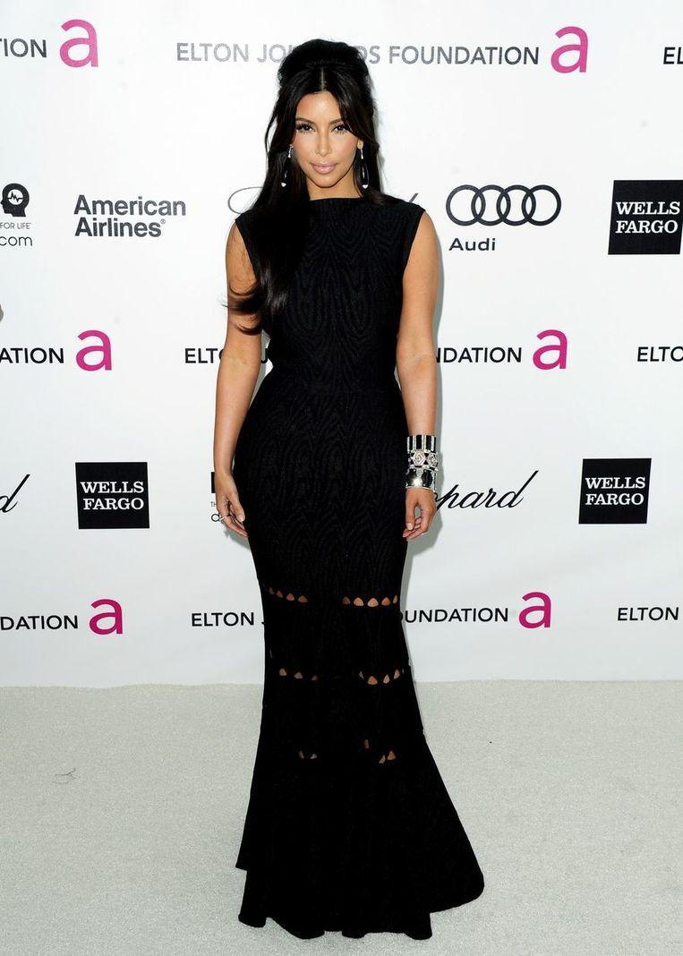 De gelijkenis met Kim Kardashian is treffend op verschillende vlakken.