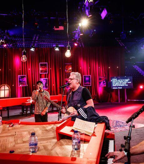 Vrienden van Amstel Live in bizar decor: Ahoy is leeg, het publiek zit thuis