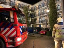 Brand bij cv-ketel jaagt bewoners uit flat in Zutphen