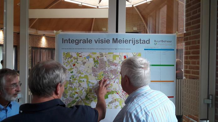 In het bestuurscentrum van Meierijstad in Sint-Oedenrode was woensdagavond een inloopavond over de visie openbare ruimte.