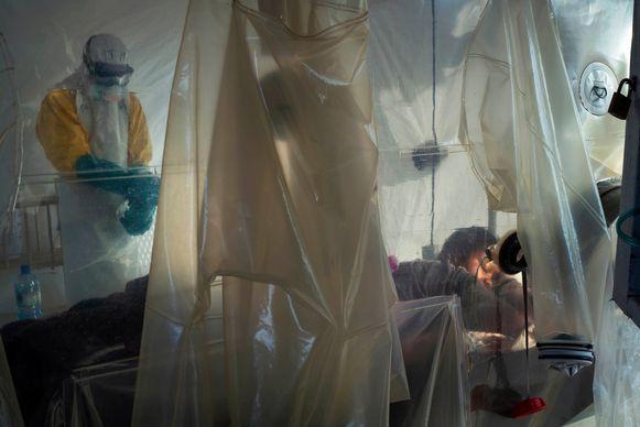 Een behandelingscentrum in Beni, Congo.