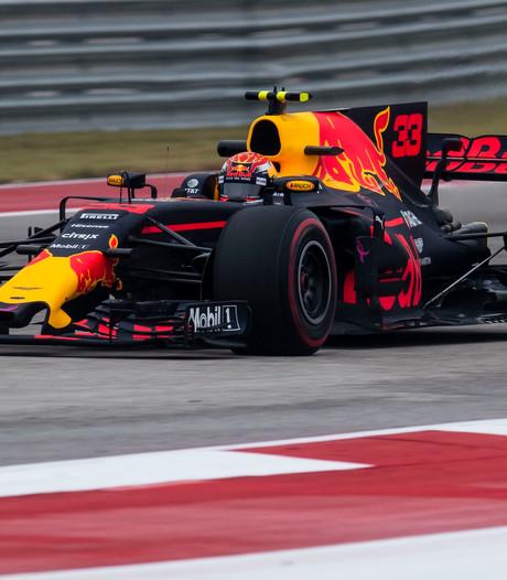 Alleen Hamilton sneller dan Verstappen bij tweede vrije training