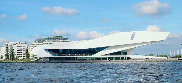 Het EYE Film Instituut in Amsterdam. Beeld anp