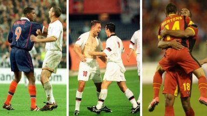 Hoe de ongeslagen reeks van Rode Duivels tegen Oranje tot stand kwam: rode Kluivert, een doelpuntenkermis en de start van het huidig succes