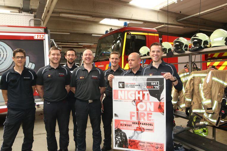 TIENEN-De Sport- en vriendenkring Tiense Blussers organiseert Night On Fire 2.0