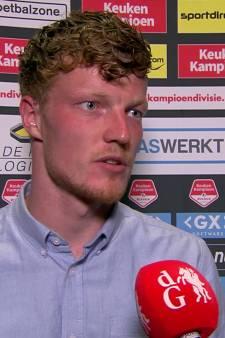 Ferdy Druijf na afloop van NEC-RKC: 'Belangrijk dat wij de play-offs winnen'