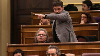 """Ophef in Spaans parlement: minister van Buitenlandse Zaken beschuldigt Catalaan hem """"bespuugd"""" te hebben tijdens debat over relatie met Vlaanderen"""