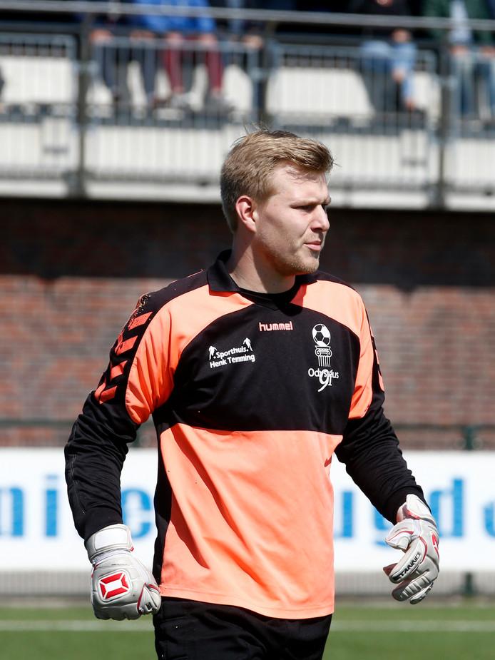 Odysseus-doelman Harmen Prenger speelt volgend seizoen voor JSV Nieuwegein.
