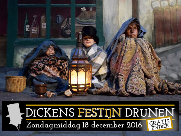 Dickensfestijn in Drunen.