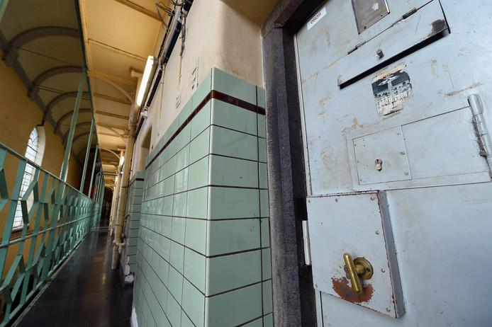 Les couloirs de la prison de Namur.