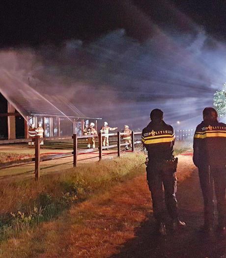 Brand woning IJhorst moeilijk te blussen