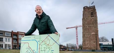 Als je je verveelt in coronatijd maak je gewoon een ondergrondse metrokaart voor Sint-Michielsgestel