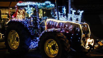 150-tal tractoren voor zesde kerstlichtparade