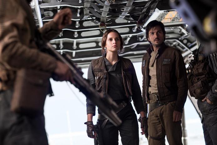 Een scène uit Rogue One.