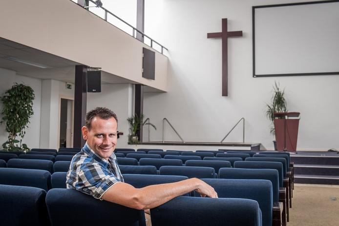 Egbert van Rhee is de nieuwe voorganger van baptistengemeente De Bron