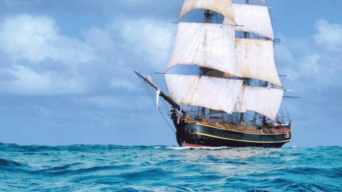 Van HMS Bounty tot Mercator