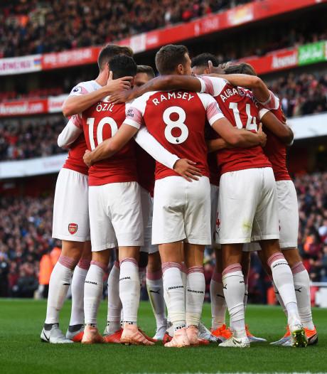Arsenal neemt in eigen huis maat van Everton