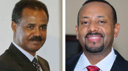 Ethiopië en Eritrea herstellen na 20 jaar diplomatieke betrekkingen