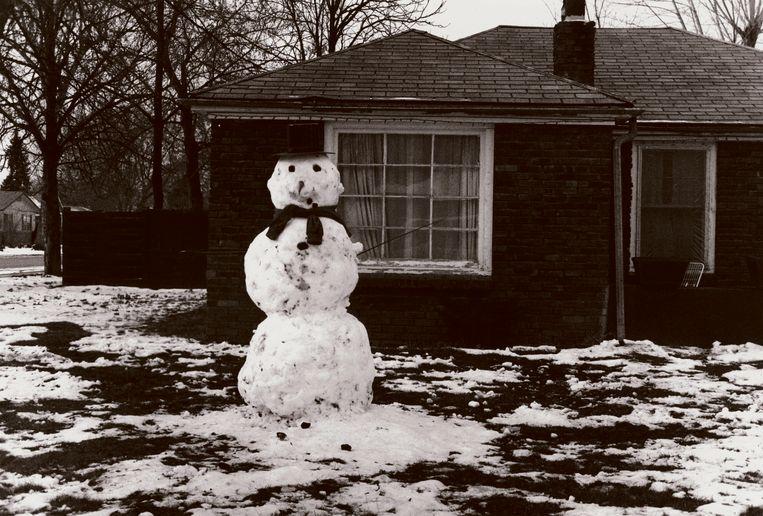 David Lynch, Snowman #14, 1993 Beeld David Lynch