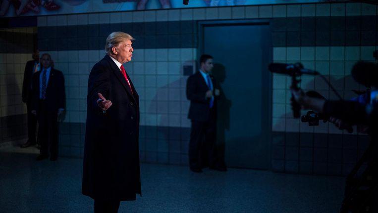 Donald Trump. Volgens historicus Timothy Snyder is zijn hele regeerstijl gebaseerd op crisis. Beeld Getty Images