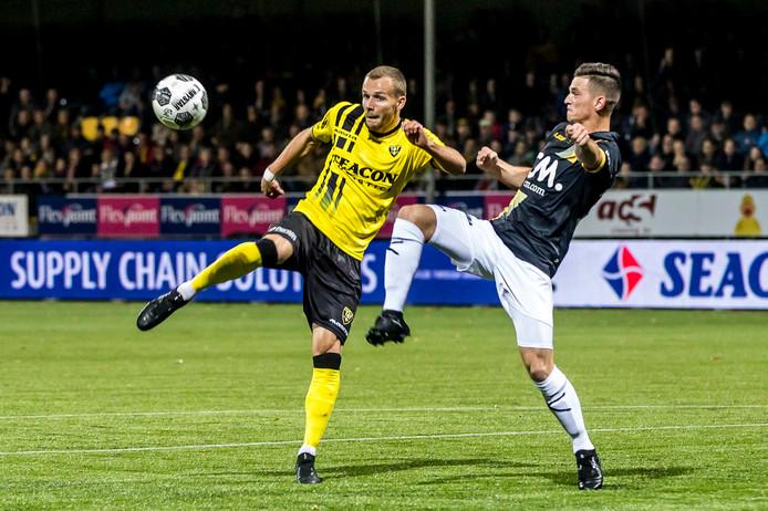 German forward Thy scored eight goals in 34 VVV appearances last term