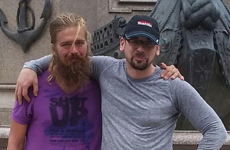 Anton met zijn broer Stefan