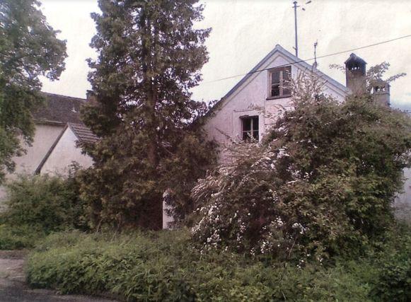 De inmiddels gesloopte woning in Riedersdorf waar B. bivakkeerde nadat zijn broer hem had weggestuurd van de ouderlijke boerderij.