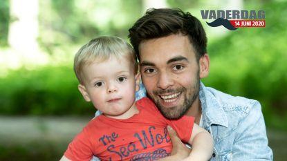 """Mathias Vergels viert zijn eerste Vaderdag als alleenstaande papa: """"Vroeger had ik soms geen zin om pampers te verversen, nu heb ik geen keuze"""""""