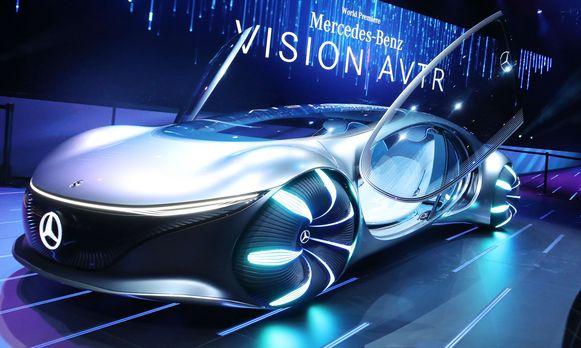 De wagen van de toekomst volgens Mercedes-Benz: zonder stuur, en kan zijwaarts rijden