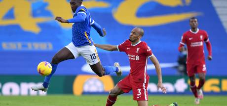 Liverpool verliest in aanloop naar Ajax-thuis Milner én twee punten na late treffer Brighton