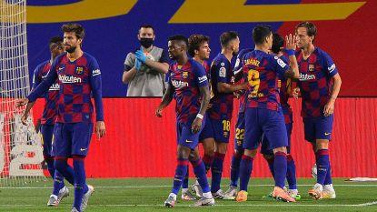 Barcelona loopt drie punten uit na grijze partij tegen Bilbao, Messi kan verjaardag niet opluisteren met 700ste goal