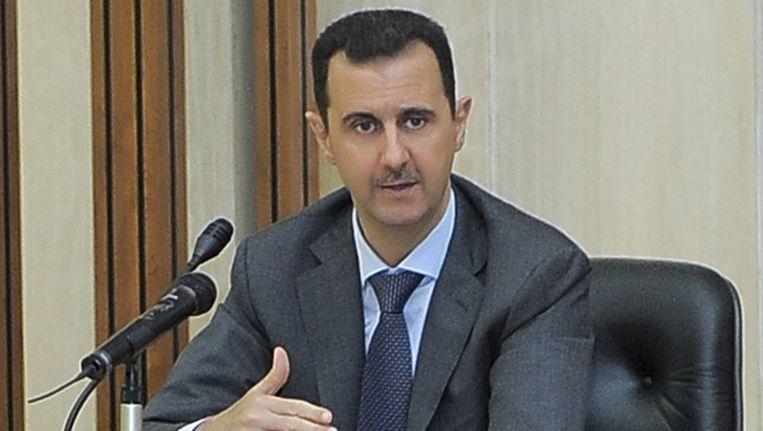 President Assad. Beeld ap