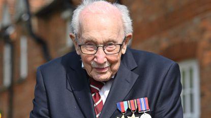 Britse veteraan Tom Moore (99) wordt oudste persoon met nummer 1-hit