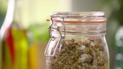 Open Keuken: Een hartige versie van granola met veel specerijen