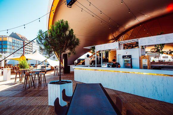 Mise en Plage Knokke: de bar