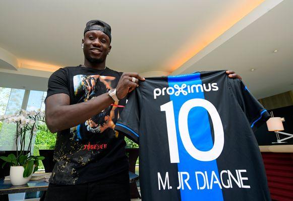 Mbaye Diagne, de nieuwe spits van Club.