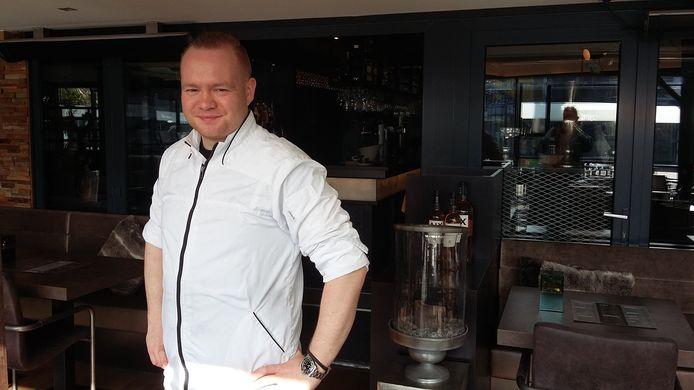 Jimmy Verboom,  eigenaar van restaurant De Wig in Renesse.
