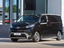 Ook Toyota komt met elektrische busjes
