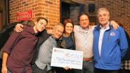 Steps On Fire schenkt bijna 20.000 euro aan vzw Help Brandwonden Kids
