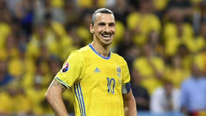 Zlatan Ibrahimovic mist de Zweedse nationale ploeg en denkt aan het EK