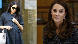De reden waarom Kate Middleton niet bij Meghan Markles babyshower was