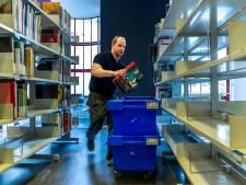 Monsterklus: 150.000 boeken verhuizen naar nieuwe bieb aan de Neude