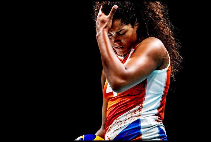 """Celeste Plak op de Olympische Spelen in Rio. ,,Na een gewonnen wedstrijd kun je niet genieten, je moet door."""""""