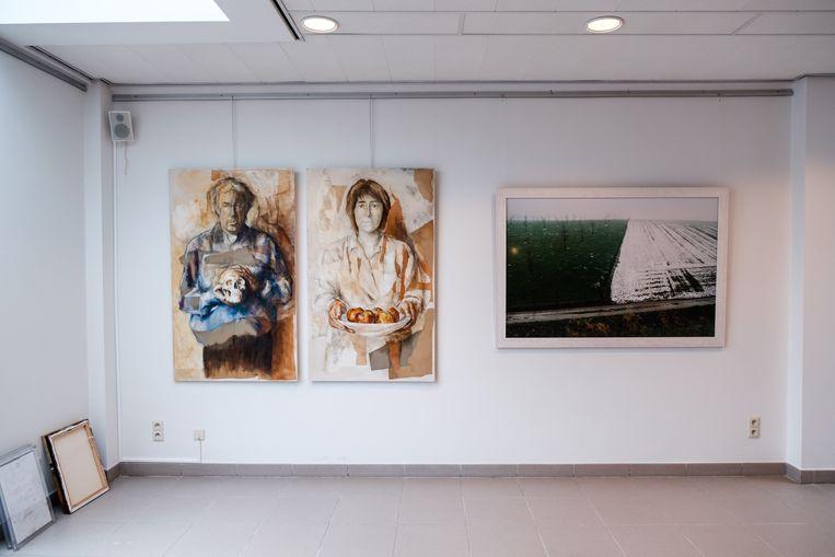 De tentoonstelling van De Arktiesten.